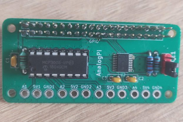 Analog input HAT Raspberry PI