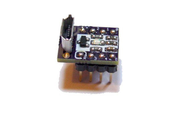 BeanDuino Attiny85 - super small Digispark clone