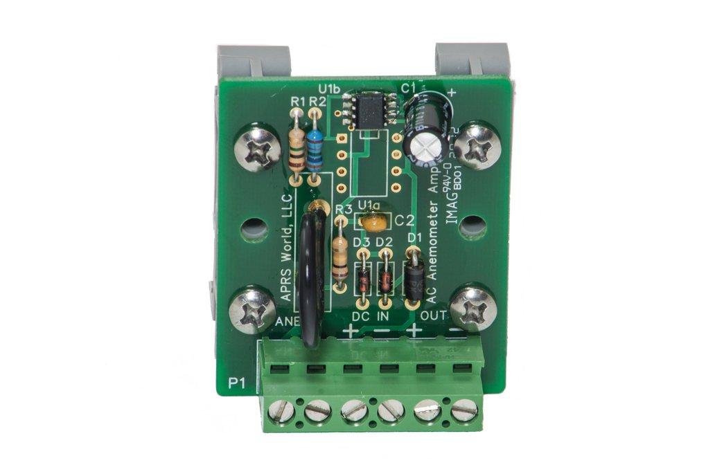 AC anemometer amplifier board 3