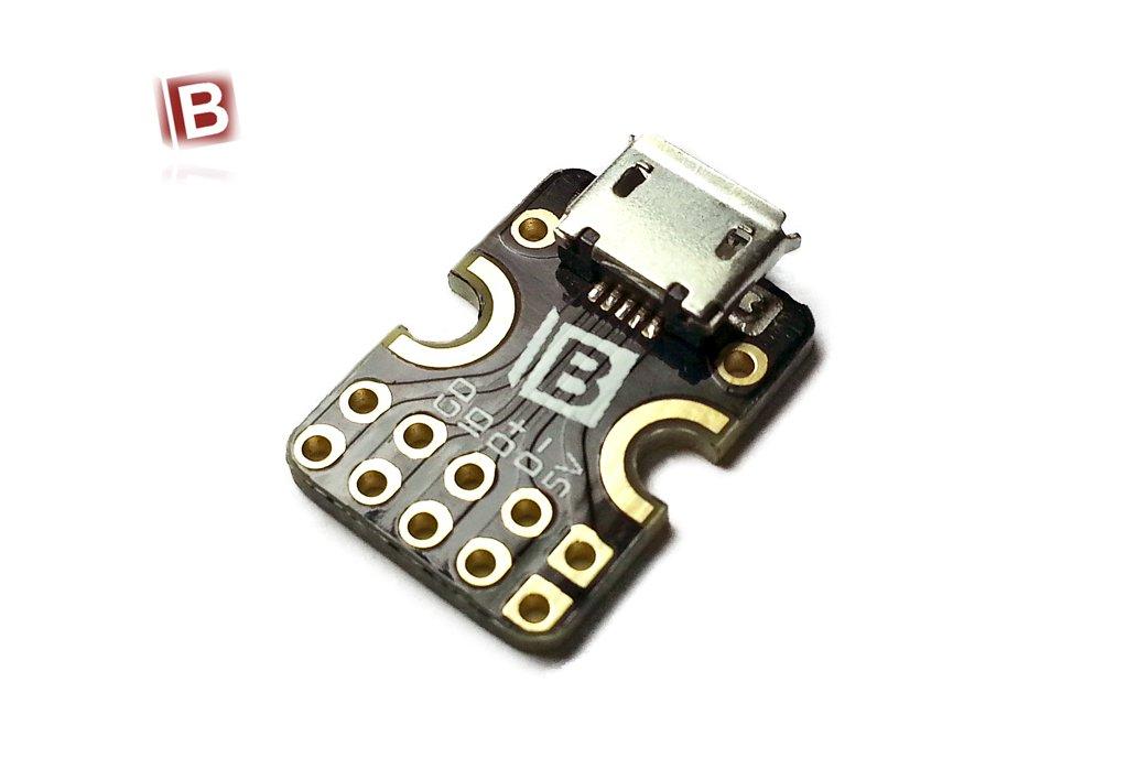 Breakout Board for USB microB 1