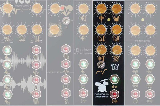 Big Hip Bass Drum Eurorack Module