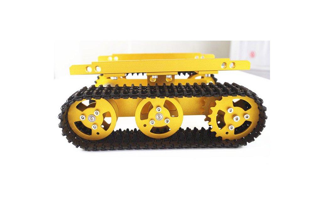 T100 Aluminum Alloy Robot Tank Car Chassis  1