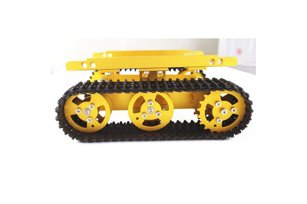 T100 Aluminum Alloy Robot Tank Car Chassis  1