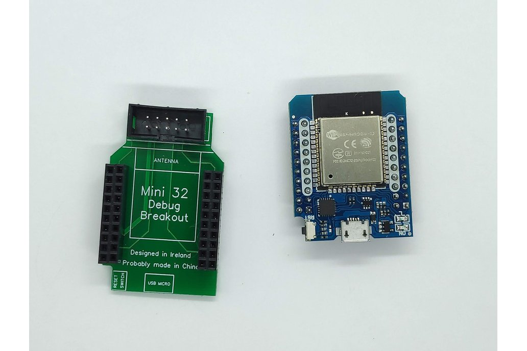 ESP32 MiniKit Debug Shield 1