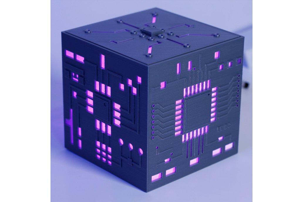 Mother Box Lamp - Futuristic 3D printed LED Lamp 1