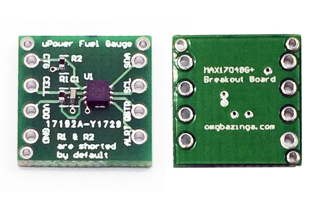 Maxim Micropower MAX17048G+ Fuel gauge breakout 1
