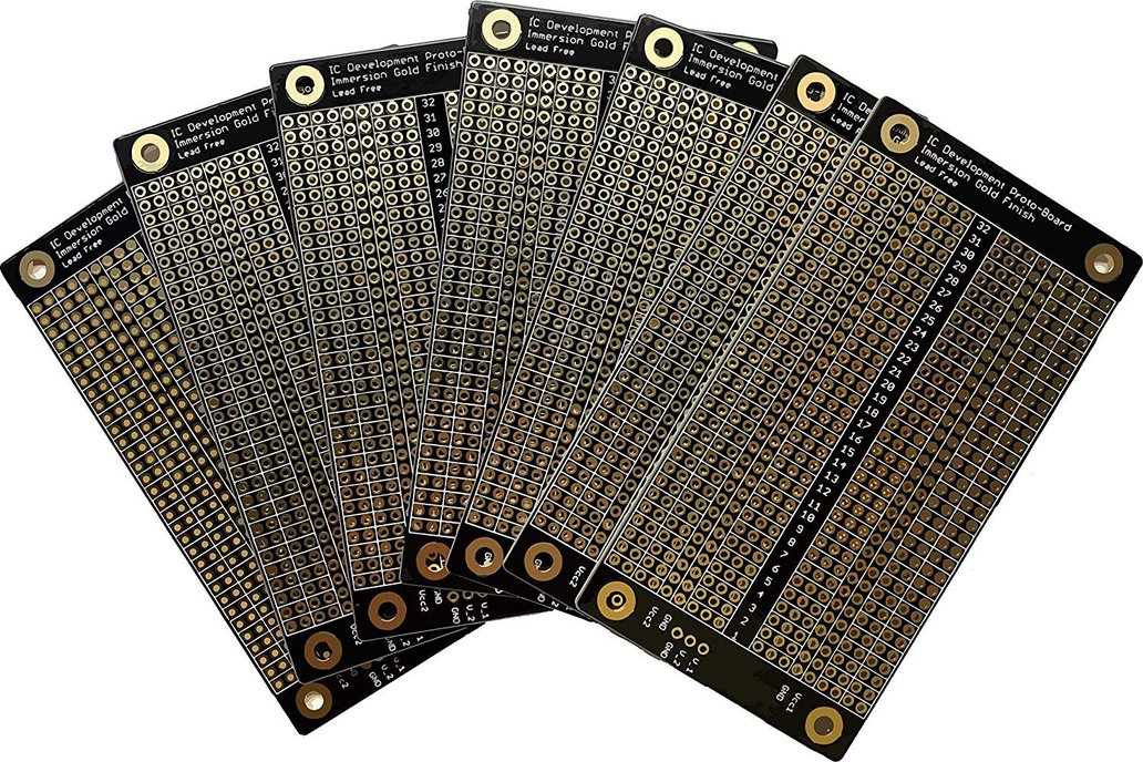 Logex IC Development Solderable Breadboard (10 pc) 1