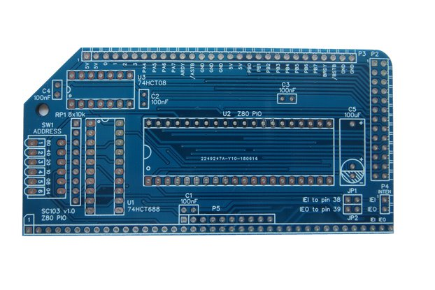 Z80 PIO module SC103 for RC2014