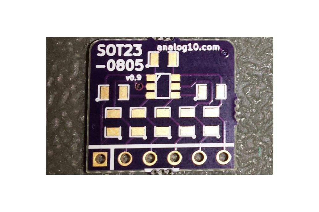 pin^2 0805: Best Breakout Board for SOT23-6 1