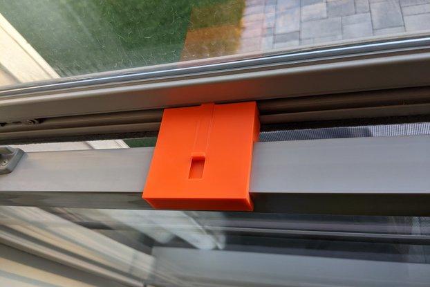 Window hold-open bracket