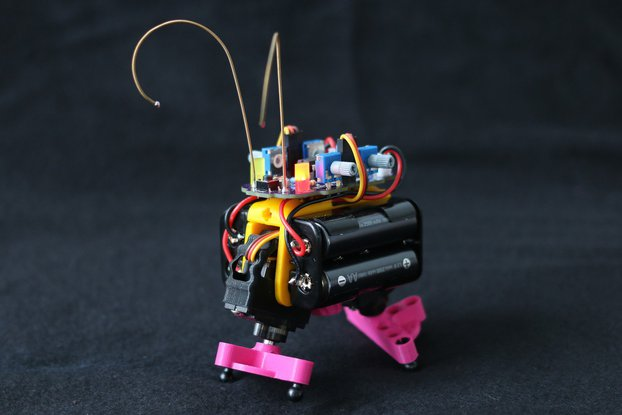 Bakiwi ~ The fabulous DIY walking robot kit.