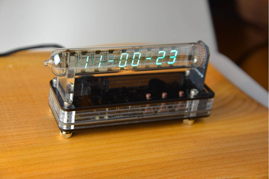 VFD Modular Clock IV-18 SMT (with GPS) 1