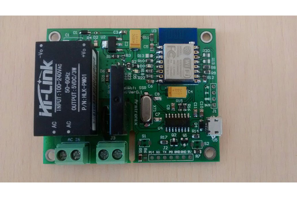 Wifi Esp8266 Solid State Relay SSR Board for IOT 2