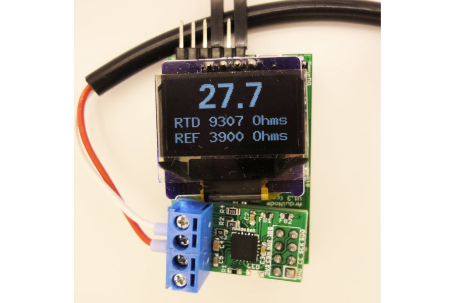 MAX31865 RTD temperature sensor breakout board