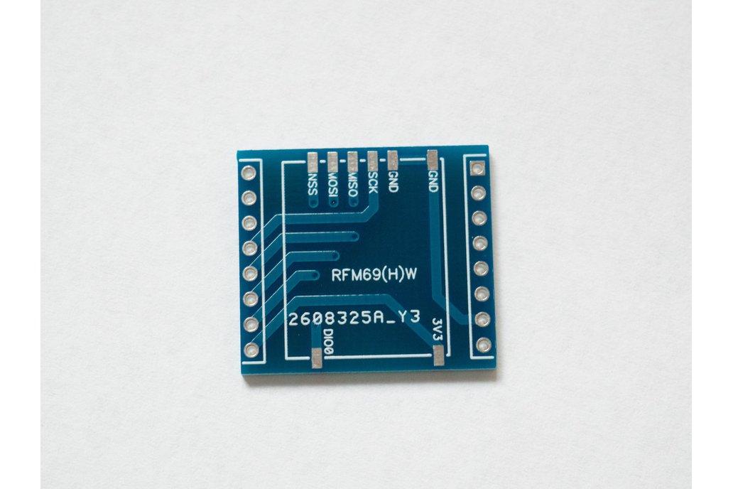 D1 Mini Shield for RFM69(H)W Wemos 1