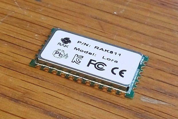RAK811  868Mhz LoRa LoRaWAN Module