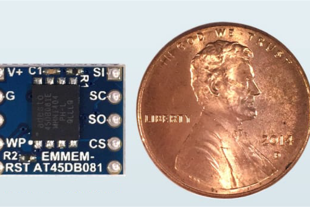 smMEM-AT45DB081 Serial Flash Device