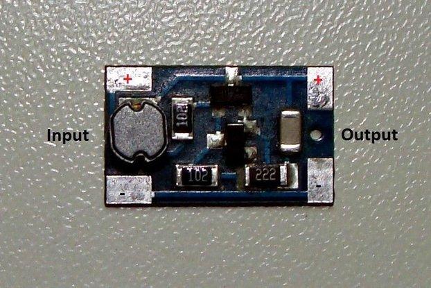 Module Joule Thief no toroid 0,8V-2,4V harvesting