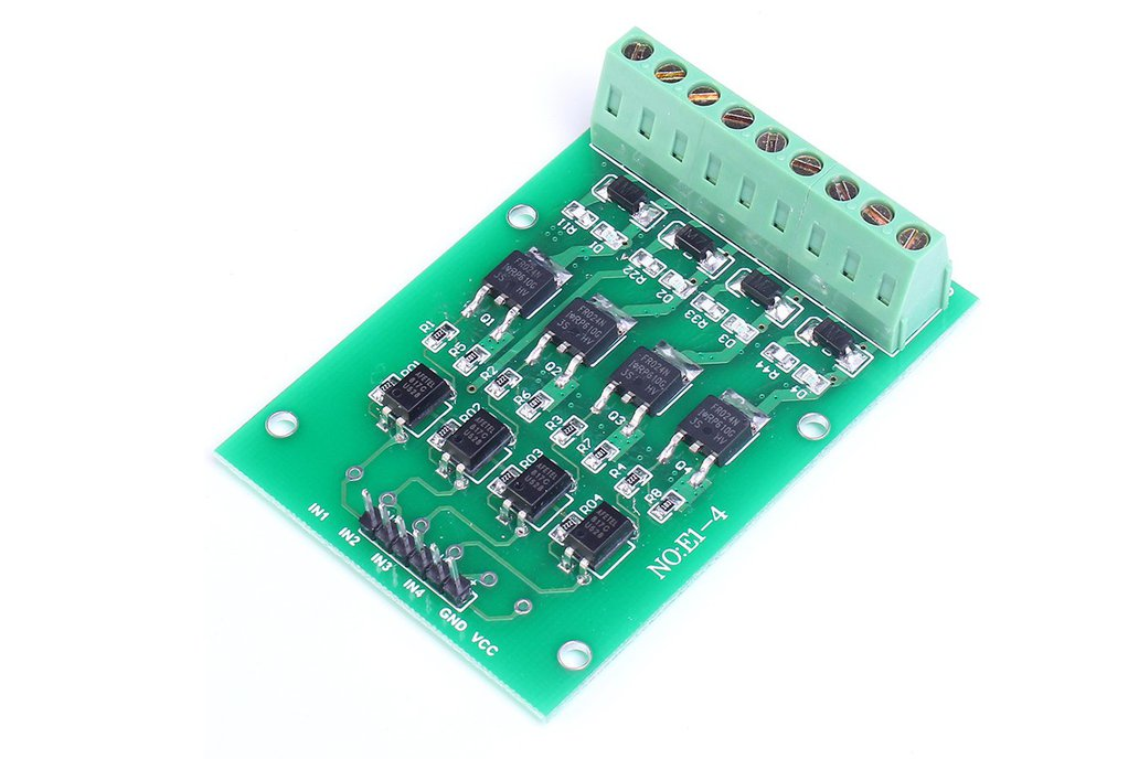 4 Channel Optocoupler Isolation Switch(8899) 1