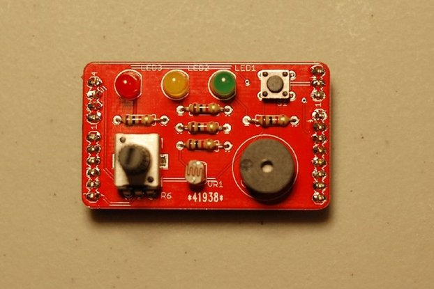 Swizzle Arduino Playground Kit (PCB + parts)