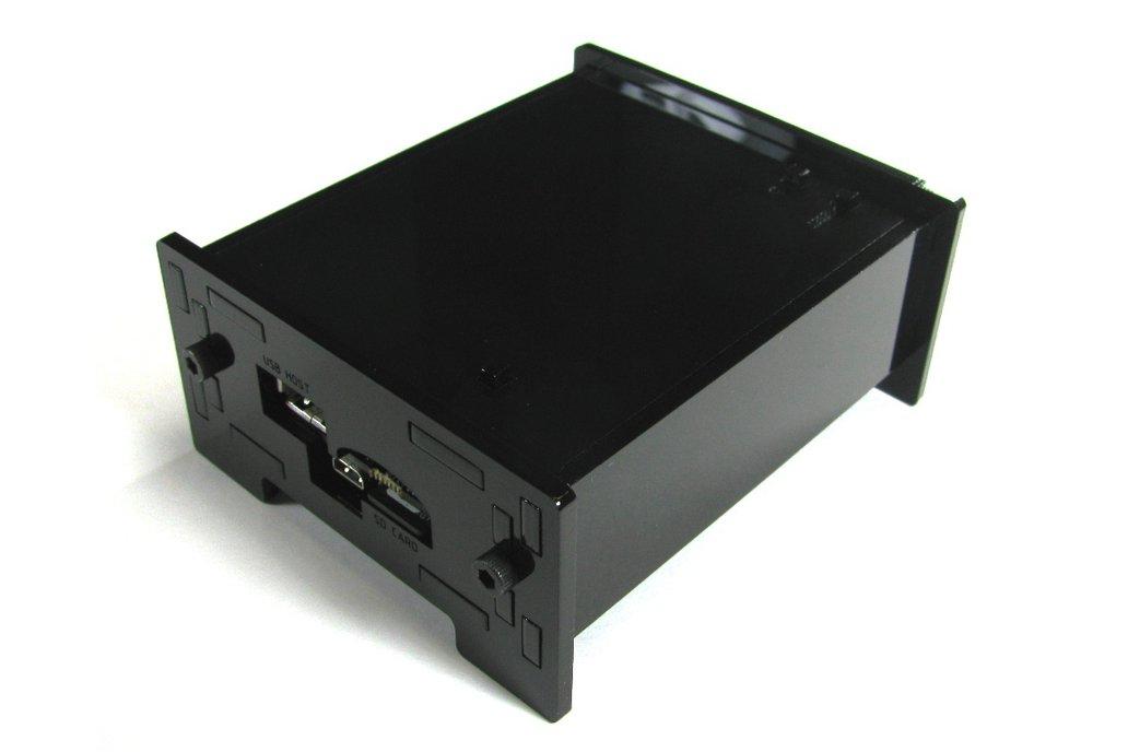 BeagleBone Black Enclosure - Black Acrylic 2
