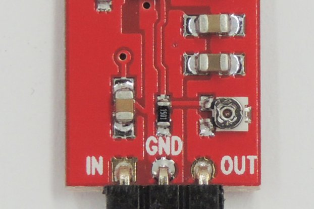 1A Adjustable 3-Pin Switch-Mode Voltage Regulator