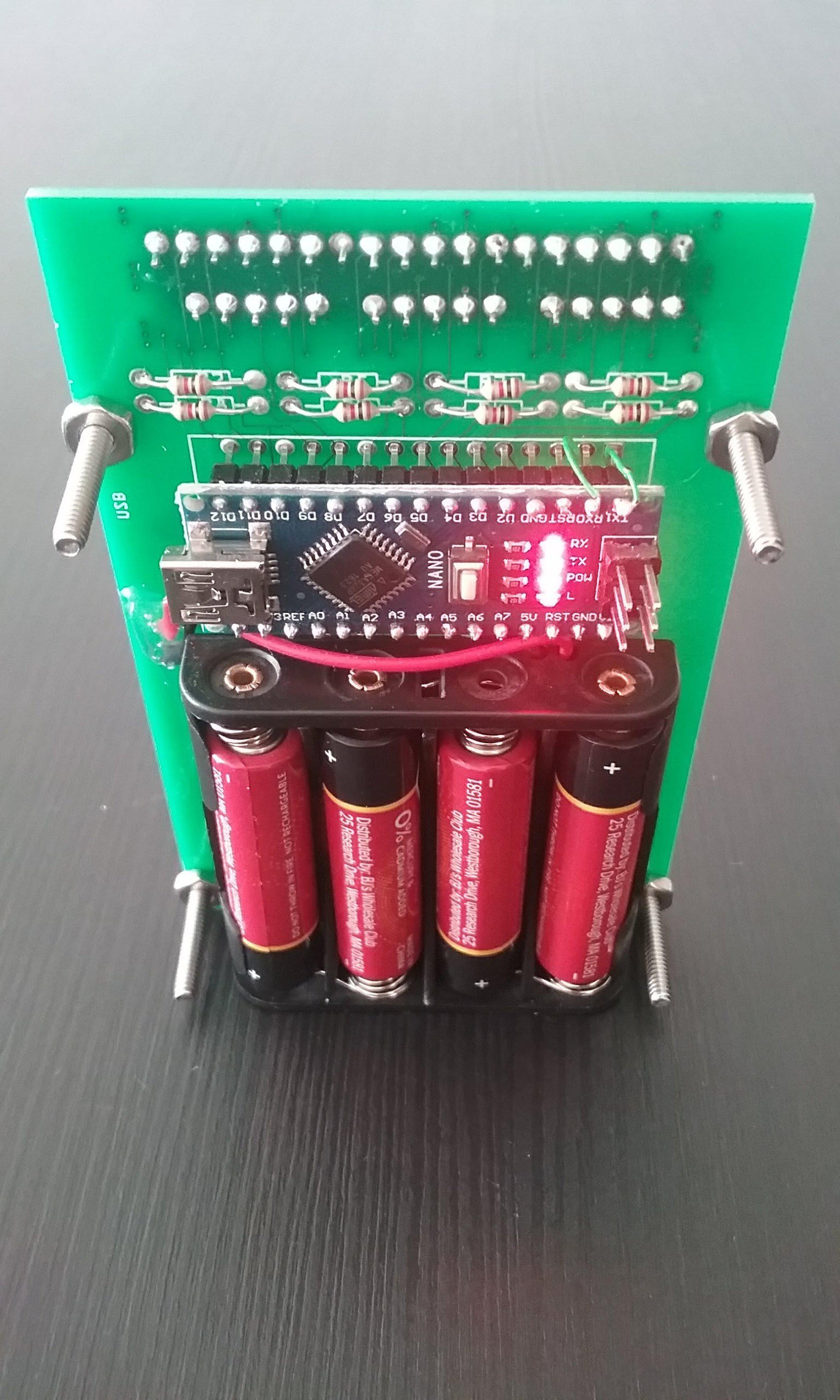 Sinclair scientific calculator emulator from arduino