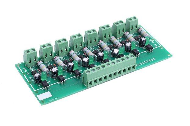 8-Bit PNP Optocoupler Isolation Module_GY18567