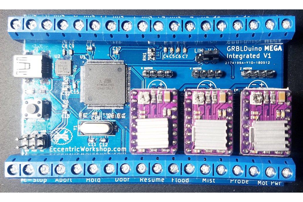 GRBLDuino Mega Integrated - GRBL 1.1 1