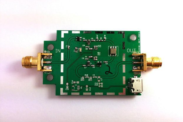315MHz Ultra Low Noise LNA Preamplifier