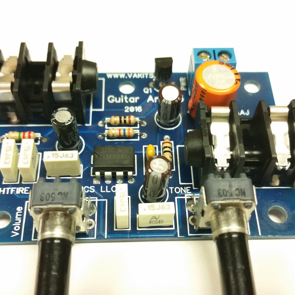 Guitar Mini Amplifier Kit 1127 From Nightfire Electronics Llc On Electronic Hobby Kits Projects Tindie