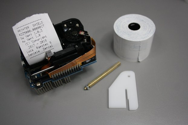 Arduino Thermal Paper Printer Shield