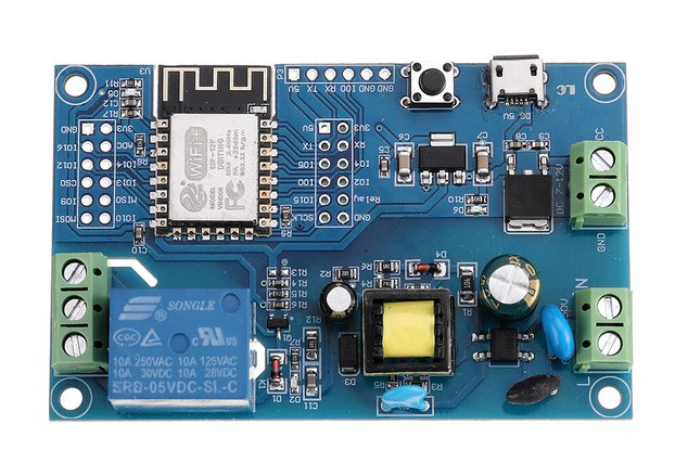 WIFI Single Relay Module Development Board