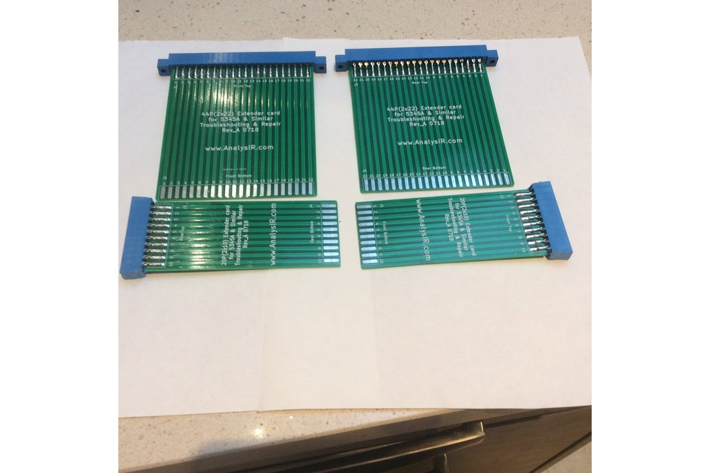 Extender/Riser boards for 5345A & similar testgear 5
