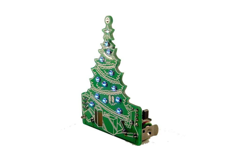 DIY Xmas desktop Tree 13 LED- KIT 8
