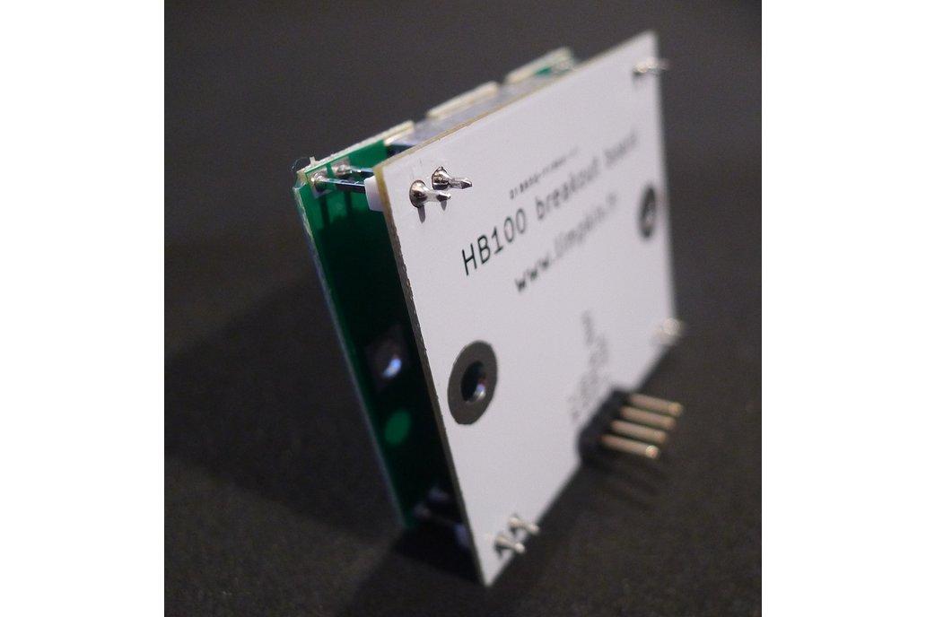 HB100 Doppler Speed Sensor - Arduino Compatible 1