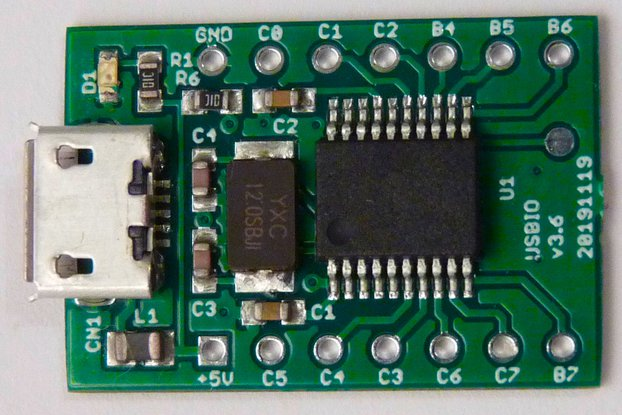 USB GPIO interface for Raspberry Pi,OpenWrt,PC