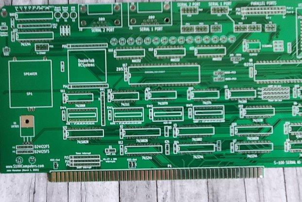 S100 Serial Board I/O v4