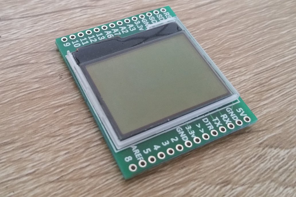 monoView - An arduino with built in display 5