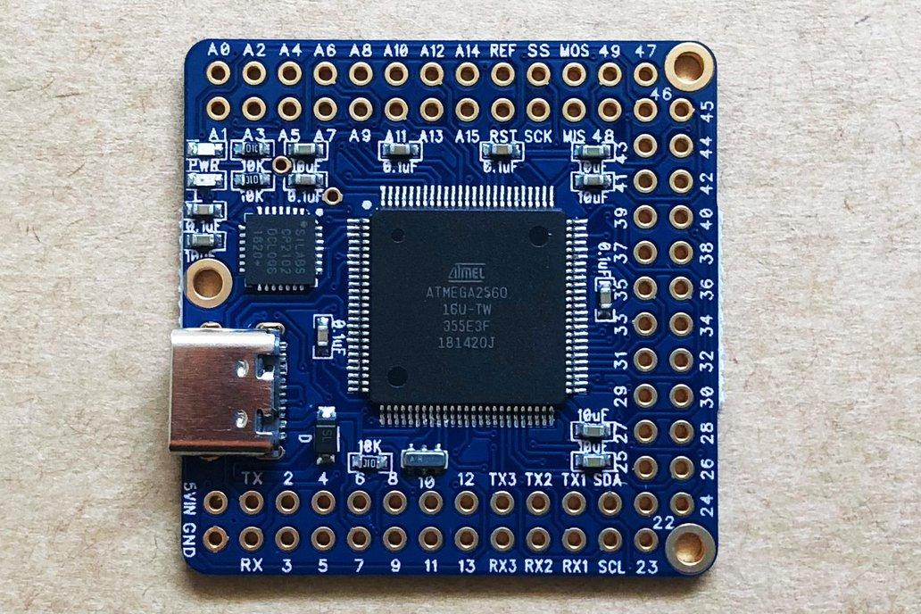 Naked Mega 4 - Arduino Mega 2560 compatible 1