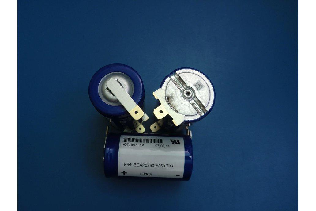 BOOSTCAP 350F 2.5VDC ULTRACAPACITOR supercapacitor 1