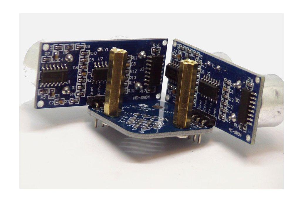 Trimount brackets for HC-SR04 Sensors - set of 4 7