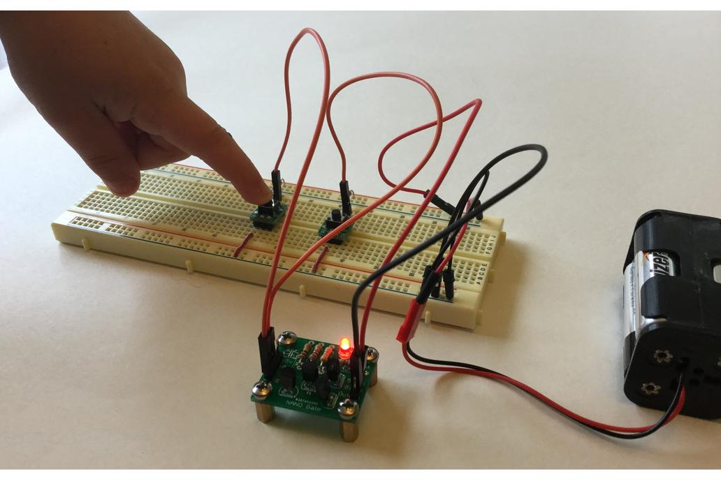 Transistor Based NAND Gate 3
