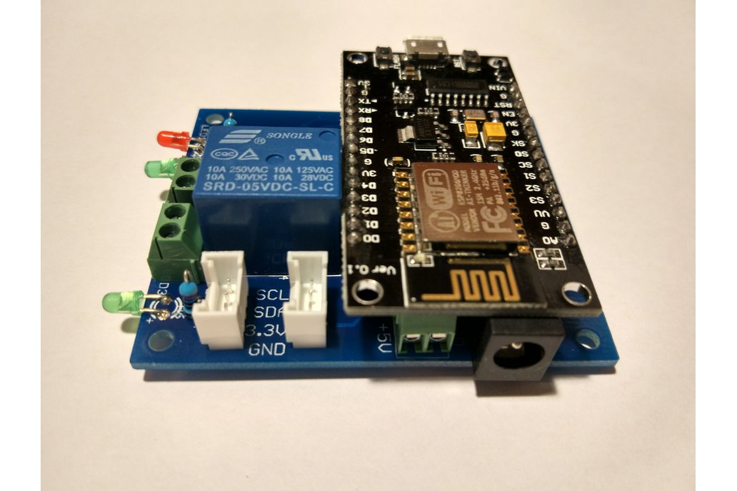 NodeMcu ESp8266 with Grove and Relay extension 2