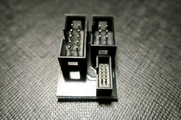 Adapter for debugger Atmel-ICE or JTAGICE3