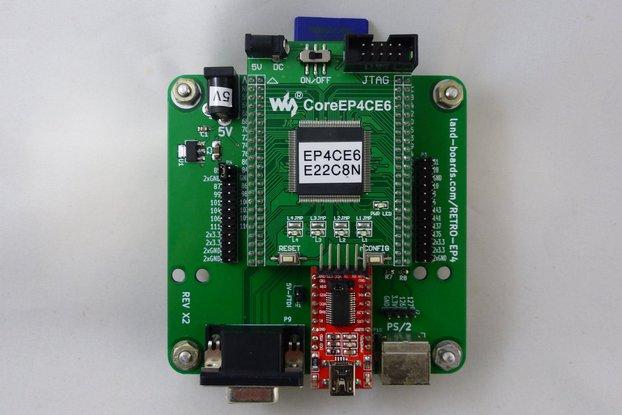 Z80, 6502, 6809, FPGA Multicomp PCB
