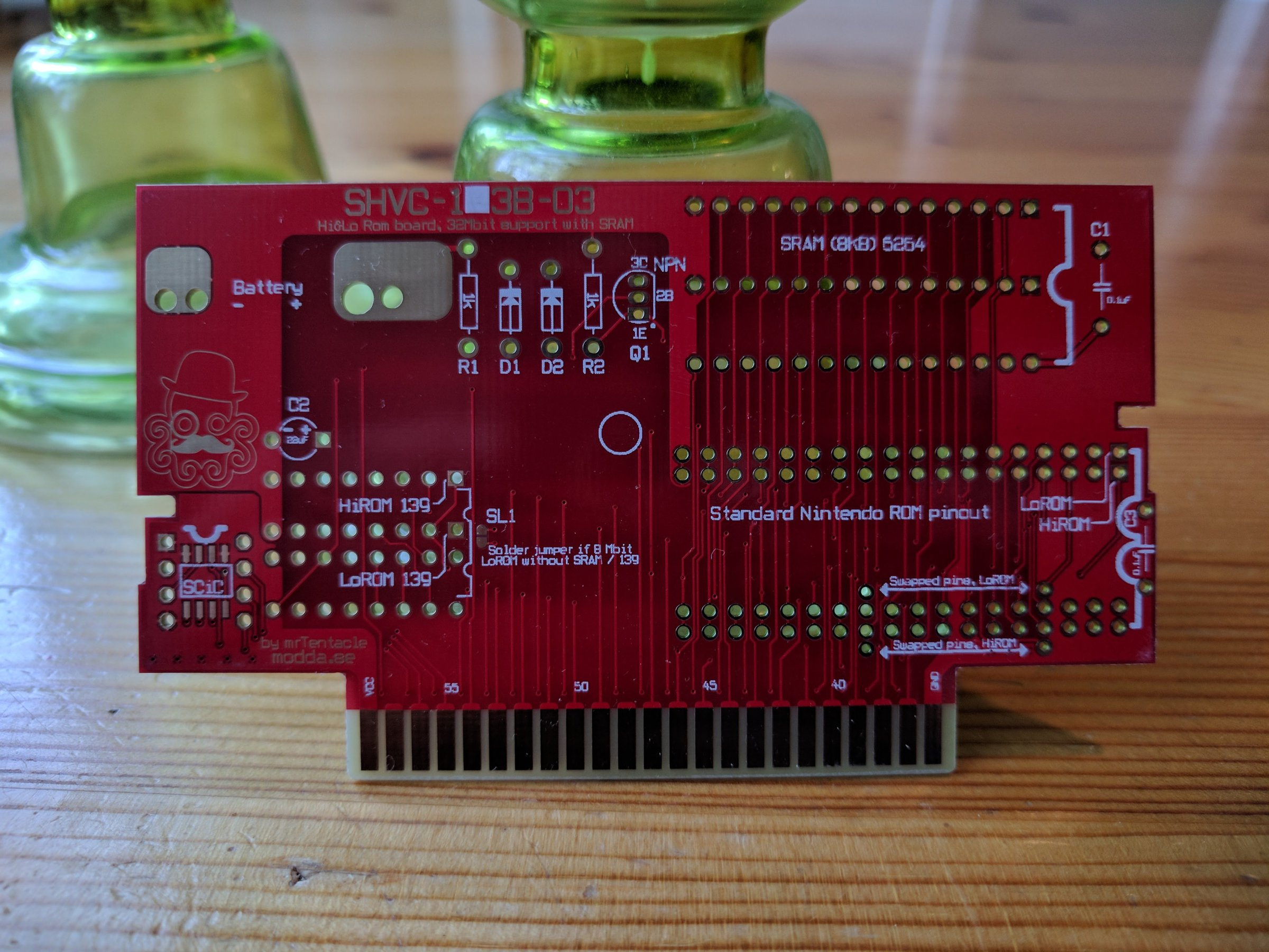 Snes Repro Pcb Build Your Own Carts From Mrtentacle On Tindie Diy How To Create Printed Circuit Boards 2