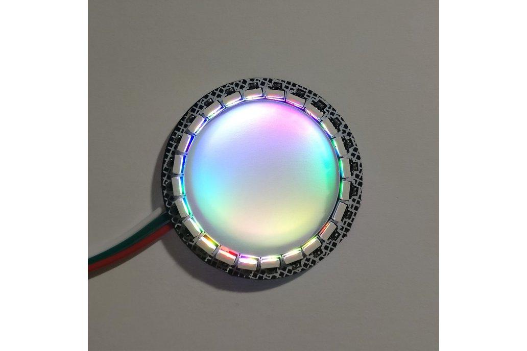 Inwards facing 24-LED ring 1