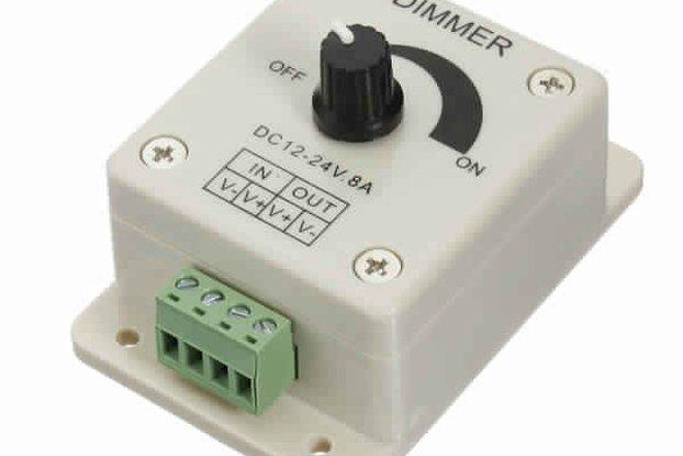 LED Light Dimmer Brightness Adjustable Control