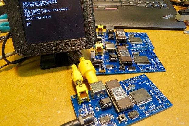 Single board Z80 computer (assembled)